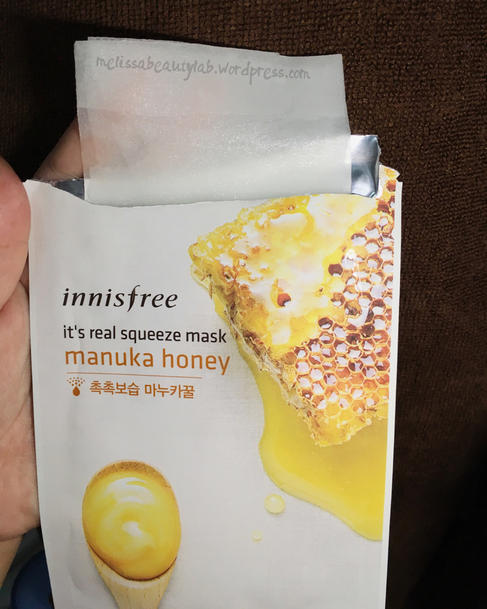 Mask Chill 2 Innisfree Its Real Squeeze Manuka Honey Bija 20ml Doused With Of Essence